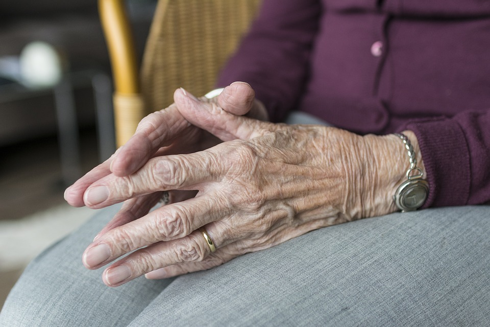 Hands Hand Ipad Loneliness Elderly Old Age Old